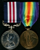 James Whitehead : (L to R) Military Medal; Allied Victory Medal