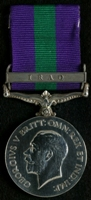 Fred Williams : General Service Medal 1918-62 with clasp 'Iraq'