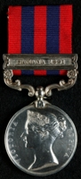 James Harrison Yule : India General Service Medal (1854) with clasp 'Samana 1891'